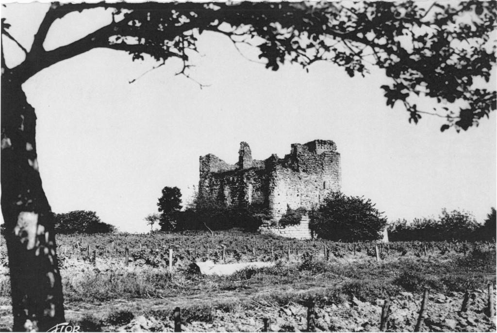 Carte postale de la tour de Beaumont